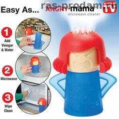 Очиститель для микроволновки Angry Mama (Злая мама)
