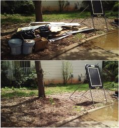 It was a Fearless Friday here at Junk King! All the storms and bad weather damage the siding on your house? After you have done the hard work you can leave the dirty part to the professionals! We will come by at haul it away just give us a call today! In the mean time check out this outstanding before and after! #junk #junkremoval #greatservice #aprilshowers #storms #siding #beforeandafter