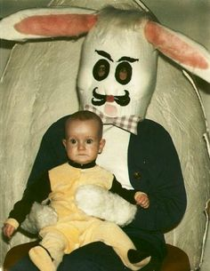 21 Nightmare-Inducing Easter Bunnies from Look What I Found