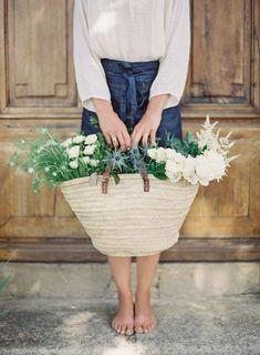 Floral Design: Laetitia C. - fleurs d'atelier - http://www.stylemepretty.com/portfolio/laetitiac Photography: Oliver Fly Photography - www.oliverfly.com   Read More on SMP: http://www.stylemepretty.com/destination-weddings/france-weddings/2017/01/03/floral-designer-at-work/