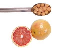Chickpeas and grapefruit may be a dieter's best friends. Chickpeas have been found to help dieters break bad snacking habits, and eating half a grapefruit before every meal has been shown to help dieters drop more pounds than forgoing the citrus fruit. Source: Thinkstock