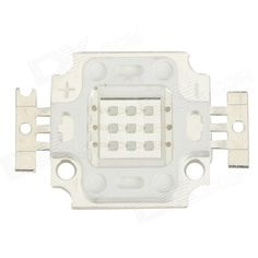 TaiWan New Century JZ-10W-B-FX 10W 270lm Square LED Blue Light Module - White (9~10V). Brand: TaiWan new century - Type: JZ-10W-B-FX - Material: Alloy + silicone - Quantity: 1 - Voltage: 9~10V - Bulb interface: Soldering - Power: 10W - Luminous flux: 270lm - Wave length: 465~470nm - Color BIN: Blue - Input current: 900mA - Application: Fish tank light, projector light, LED bulb, street lamp etc. Tags: #Lights #Lighting #Bulbs #and #Strips #LED #Bulb #Parts #Leds