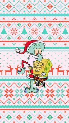 iphone wallpaper winter iPhone and Android Wallpapers: Squidward and Spongebob Christmas Wallpaper for iPhone and Android Holiday Iphone Wallpaper, Apple Watch Wallpaper, Funny Iphone Wallpaper, Iphone Background Wallpaper, Aesthetic Iphone Wallpaper, Aesthetic Backgrounds, Phone Backgrounds, Christmas Aesthetic Wallpaper, Christmas Phone Wallpaper