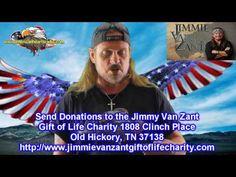 Johnny Van Zant For Jimmy Van Zant Gift of Life Charity