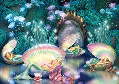 Sleeping Mermaids Photograph