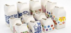 Christmas craft fayre on Saturday - looking forward to seeing these milk jugs