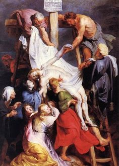 Peter Paul Rubens: El descendimiento de la Cruz, 1612.