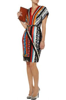 Ava printed silk-blend dress by Peter Pilotto
