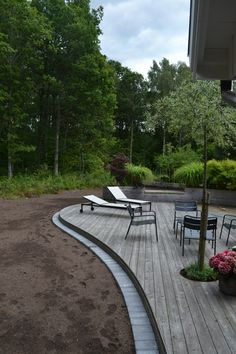 Outdoor Furniture, Outdoor Decor, Blogg, Sun Lounger, Terrace, Pergola, Sidewalk, Deck, Exterior