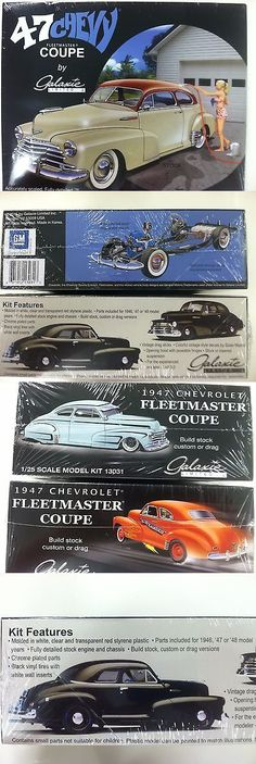 Vintage 2585: Galaxie Limited 1947 Chevrolet Fleetmaster Coupe 1 25 Scale Model Kit - 13031 -> BUY IT NOW ONLY: $39.95 on eBay!