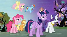 Mane 6 and The Elements of Harmony!