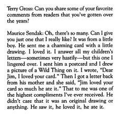 best Maurice Sendak quote