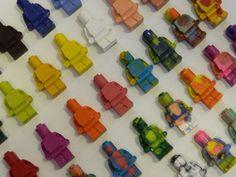 Lego Minifig Crayons