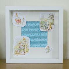 Gemaakt door mijzelf, ribba frame met peter rabbit thema Mr Mcgregor, Peter Rabbit Nursery, Ribba Frame, Nursery Ideas, Pug, Nursery Room Ideas, Kids Bedroom Ideas