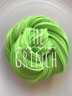 The Grinch Who Stole Christmas Slime
