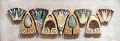 WLA brooklynmuseum Tile Frieze Representing Lotus and Grape - Egyptian faience - Wikipedia, the free encyclopedia