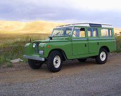 Former Barn Resident: '66 Land Rover