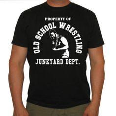 JUNKYARD DOG T SHIRT 80`S OLD SCHOOL WWF WRESTLING JW16