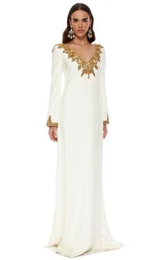 The Caftan Collection Special 2015 Trunkshow Look 5 on Moda Operandi