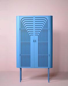 Deco Cabinet by Nort Studio. Art Deco Furniture, Cheap Furniture, Furniture Design, Furniture Online, Furniture Stores, Luxury Furniture, Interior Desing, Fancy Houses, Art Deco Home