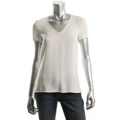 BOSS HUGO BOSS Womens Icel Silk Pullover Top