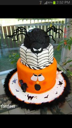 Beautiful Halloween cake