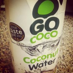 """""""I think we have a winner. In what has become a bit of a Coconut Water quest this stuff is the best IMHO. Thai Coconuts once again. I have only ever found this stuff in a large Tesco's a few miles from my home. 8.5 #GoCoco #coconutwater #thaicoconuts""""  #gococo #rehydrate"""" #naturalhydration #GoCoco #CoconutWater #Coconut #Health #Nutrition #Rehydration #Refreshing #Healthy #HealthyEating #FoodDrink #Food #Drink"""
