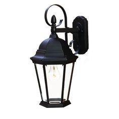 Acclaim Lighting New Orleans Outdoor Wall Mount Light Fixture 5412bk