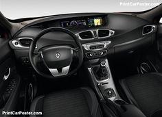 Renault Scenic XMOD 2013 poster, #poster, #mousepad, #tshirt, #printcarposter