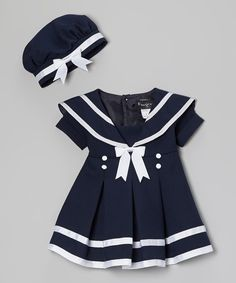 Sailor dress for the little one!