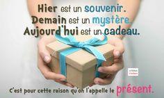"""Résultat de recherche d'images pour """"demain est un cadeau"""""""