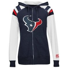 Women's Houston Texans Junk Food Navy Blue Boyfriend Fleece Pant