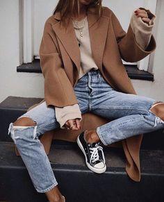 Look Fashion, Trendy Fashion, Spring Fashion, Autumn Fashion, Womens Fashion, Ootd Spring, Trendy Style, Fashion Style Women, Fashion Ideas