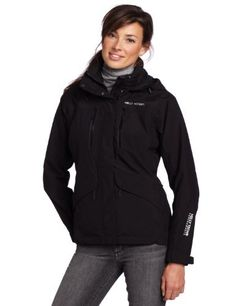 Helly Hansen Women's Zera Jacket, Black, X-Small by Helly Hansen. $157.14. Full weather protection and contemporary design. The Zera 2L jacket is a mesh lined shell jacket compatible with the Component Insulation System (CIS) carrying the essential features for backcountry adventures and everyday use.