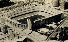 Estadio Santiago Bernabeu (antigua foto) MADRID
