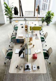 The Scandinavian Office. office_as_a_service officedesign officeinterior i… Corporate Office Design, Open Office Design, Office Interior Design, Office Interiors, Interior Modern, Corporate Executive, Corporate Offices, Room Interior, Open Space Office