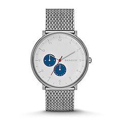 Hald Steel Mesh Watch $185.00