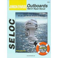 Seloc Service Manual - Johnson/Evinrude - All V Engines - 1992-01 - https://www.boatpartsforless.com/shop/seloc-service-manual-johnsonevinrude-all-v-engines-1992-01/