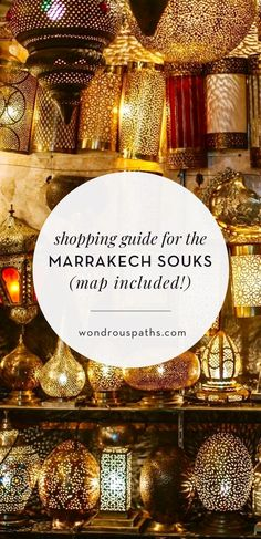 The souks, or open air markets, of Marrakech are the largest in the country of Morocco, and one of the most fascinating places in the world to shop.  Marruecos Travel  Accéder au site pour information   https://storelatina.com/morroco/travelling #traveling #turismo #travelmarruecos #travelmorroco
