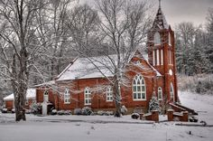 Old Country Church - Amherst County, VA