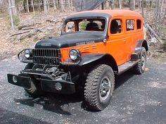 Civilian Dodge Carryall. Old Dodge Trucks, Dodge Pickup, Pickup Trucks, Jeep 4x4, Jeep Truck, Hot Rod Trucks, Big Trucks, Cummins Motor, Dodge Power Wagon