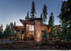 contemporary cabin - Google Search