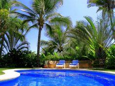 Heated and ozone-treated Pool
