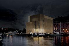 Wettbewerb für Nobelstiftung in Stockholm / Landende Seemöwen - Architektur und Architekten - News / Meldungen / Nachrichten - BauNetz.de
