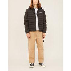 CK Calvin Klein Hooded shell-down puffer jacket Puffer Jackets, Winter Jackets, Ck Jeans, Padded Jacket, Calvin Klein Jeans, How To Look Pretty, Khaki Pants, Long Sleeve, Sleeves