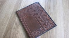Tooled Leather Notebook Cover Soviet era
