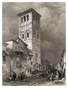 Parroquia de Santo Tome en Toledo-España artística y monumental..Tomo II- 1842-1850-Genaro Perez de Villa-Amil. Cortesía: Cesar Ojeda, Las Palmas de Gran Canaria (España).