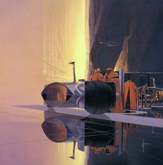 "Сид Мид (Syd Mead): Silver Coach, 1983 ****If you're looking for more Sci Fi, Look out for Nathan Walsh's Dark Science Fiction Novel ""Pursuit of the Zodiacs."" Launching Soon! PursuitoftheZodiacs.com****"