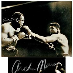 Archie Moore and Muhammad Ali