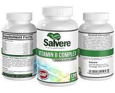 Vitamin B Complex Tablets - Contains High Strenght Levels Of Vitamin B1, B2, B3, B5, B6, B12, D-Biotin & Folic Acid - Converts Food Into Energy - Alleviate Moodiness, Insomnia, Low Energy, Mild Depression, Improve Concentration and Memory
